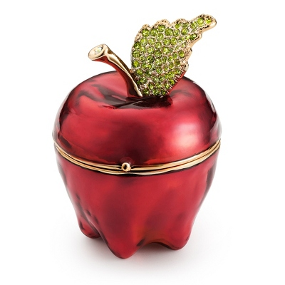 Personalized Miniature Apple Keepsake Box