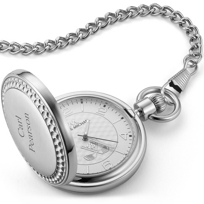 Engraved Mens Quartz Pocket Watches - 5 products
