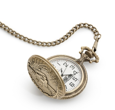 Train Pocket Watch - Men's Jewelry