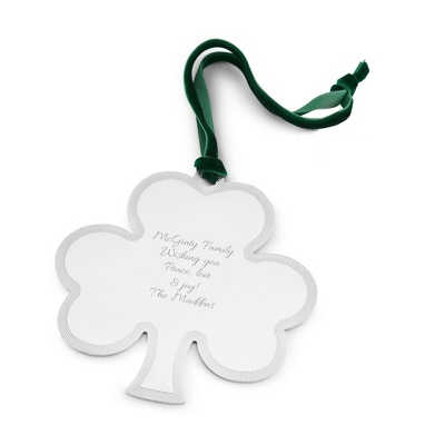 Shamrock Ornament - All Christmas Ornaments