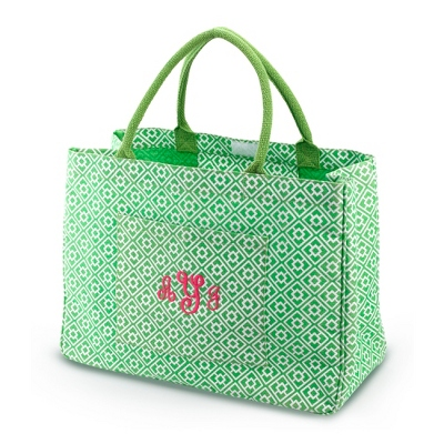 Clover Square Leta Day Tripper Tote - Embroidered Totes & Accessories