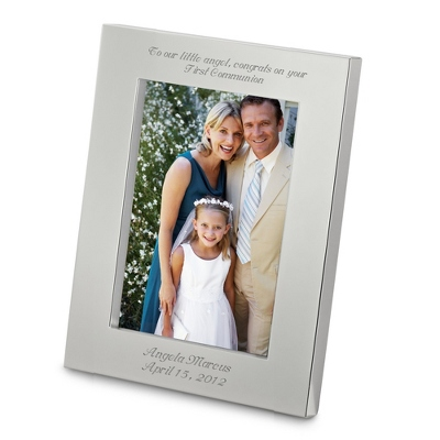 Silver Personalized 5x7 Picture Frames - 3 products