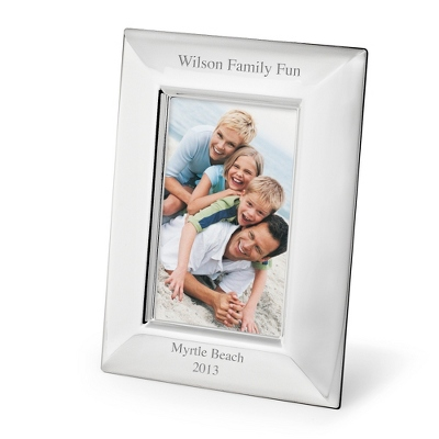 Portrait Basic Silver 4x6 Frame - Frames for the Graduate