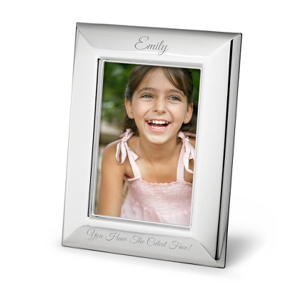 Portrait Basic Silver 5x7 Frame - Frames for the Graduate