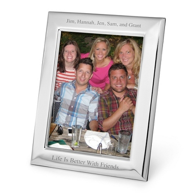 Portrait Basic Silver 8x10 Frame - Frames for the Graduate