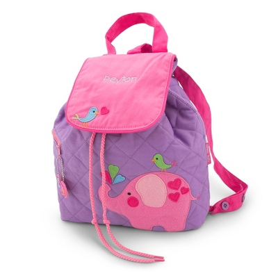 Elephant Quilted Backpack - Kid's Backpacks & Travel Bags