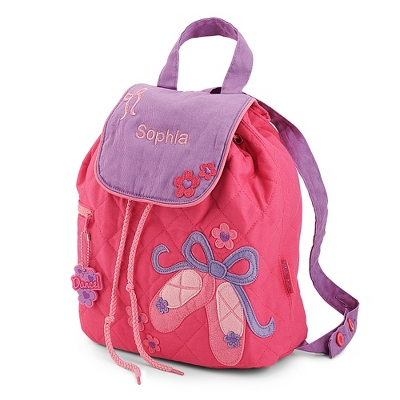 Ballet Quilted Backpack