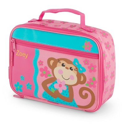 Girl Monkey Lunch Box