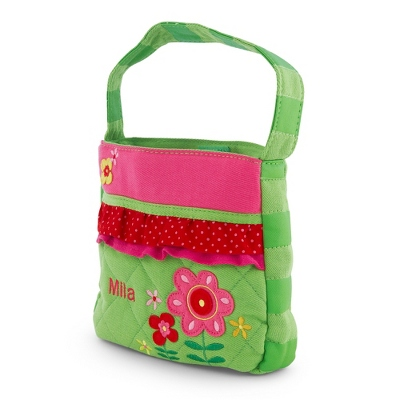 Quilted Flower Purse - $15.00
