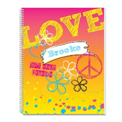 Rockin Rainbow Notebook - Children's School Gifts