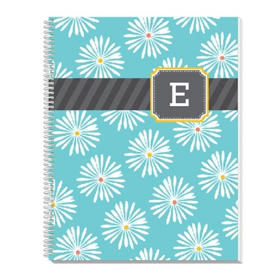 Multi Monogram Notebook - Children's School Gifts