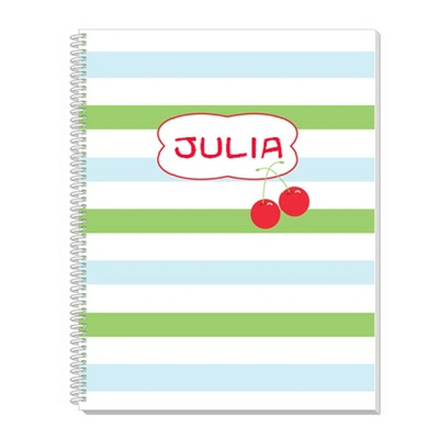 Cherries Notebook - Children's School Gifts
