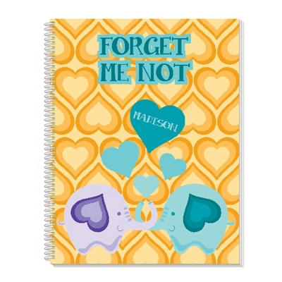 Forget Me Knot Notebook - Children's School Gifts