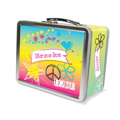 Rockin Rainbow Lunch Box