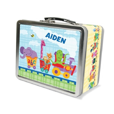 Alphabet Train Lunch Box - UPC 825008346932