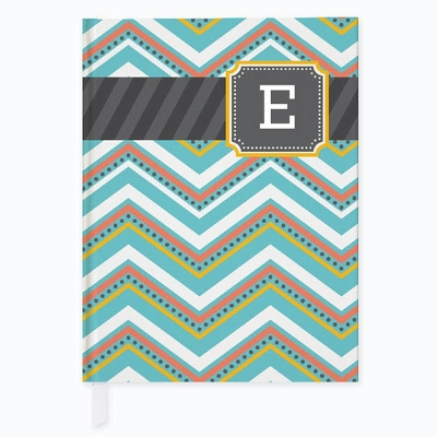 Multi Monogram Journal - Binders and Journals