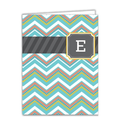 Multi Monogram Set of 2 Folders - Children's School Gifts