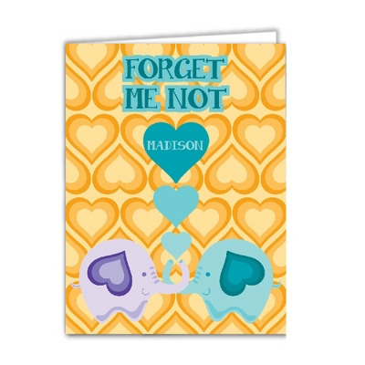 Forget Me Knot Set of 2 Folders