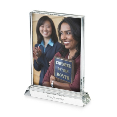 Personalized Engraved Crystal Frames