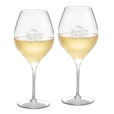 Francesca Set of 2 White Wine Glasses
