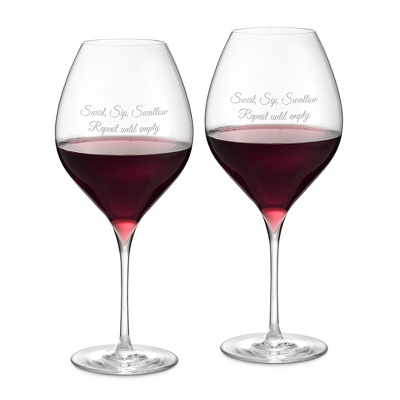 Francesca Set of 2 Red Wine Glasses