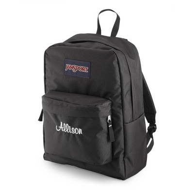 JanSport Superbreak Backpack Black - UPC 825008347687