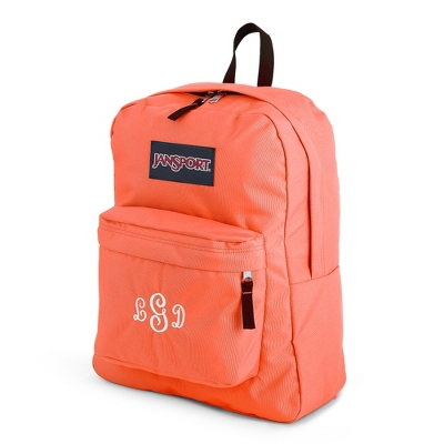 JanSport Superbreak Backpack Coral Peaches - UPC 825008347724