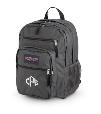 JanSport Big Student Backpack Forge Grey - UPC 825008347755