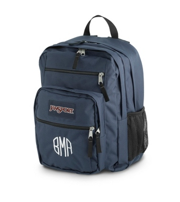 JanSport Big Student Backpack Navy - $50.00