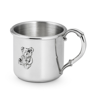 Pewter Teddy Cup