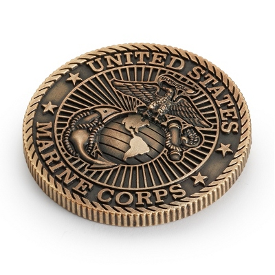 Marines Corps Challenge Coin - Military