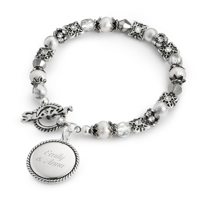Sister Bracelet with complimentary Filigree Keepsake Box