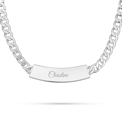 Engraved Id Necklace - 4 products