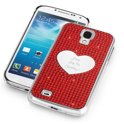 Red Bling Samsung Galaxy S4 Case - $25.00