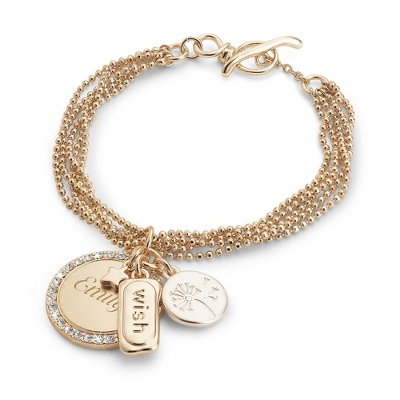 Ball Chain Wish Bracelet with complimentary Filigree Keepsake Box - $24.99