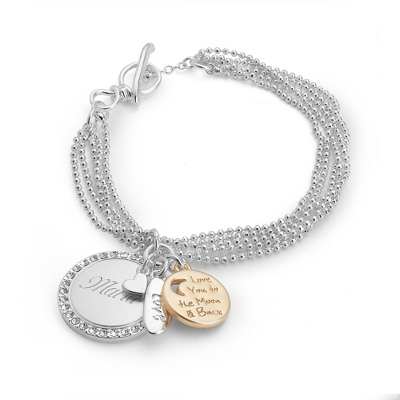 Ball Chain Love Bracelet with complimentary Filigree Keepsake Box - $24.99