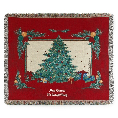 Christmas Magic Throw - Holiday Decor