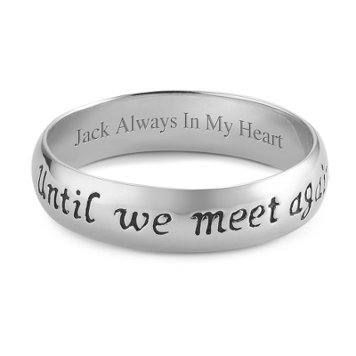 Personalized Memorial Ring