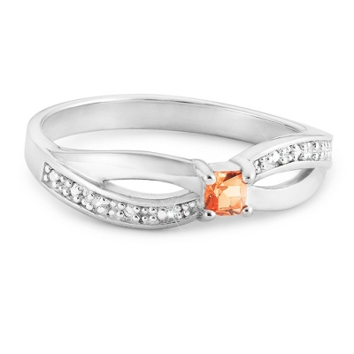 Birthstone Jewelry for Mom Rings