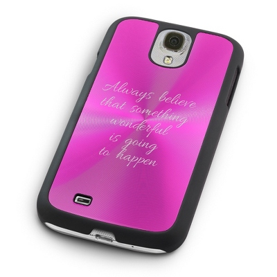 Personalized Pink Samsung Case - UPC 825008352438