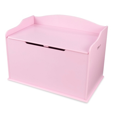 "30"" Pink Busy Bee Toy Box with No Name"