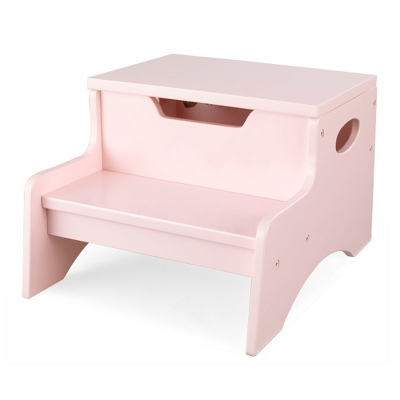 Petal Little Stepper Storage Step Stool with No Name - Children's Furniture