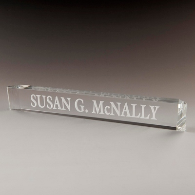 Engraved Name Plaque