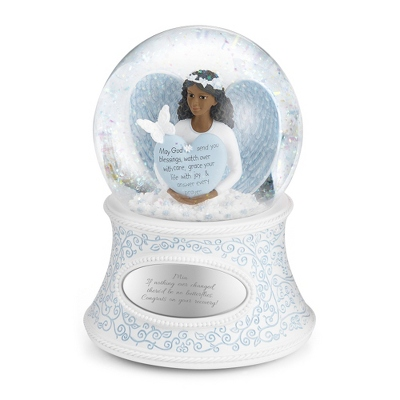 Personalized Butterfly Angel of Blessings Snow Globe by Things Remembered