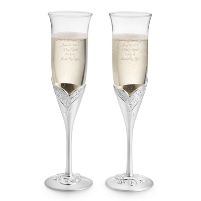Charleston Lace Flutes