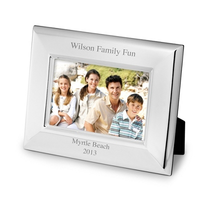 Landscape Basic Silver 4x6 Frame - Frames for the Graduate