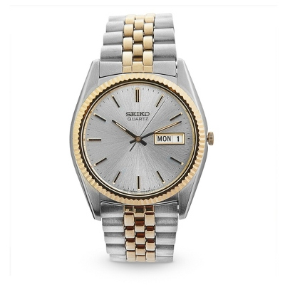 Seiko Men's Classic Two Tone Watch - $285.00