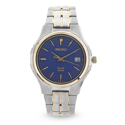 Seiko Solar Two Tone Watch - $250.00