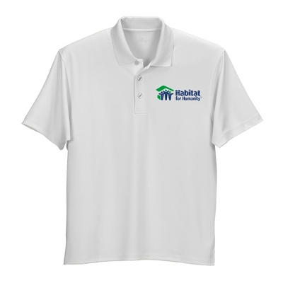 White Mesh Tech Polo - Business Gifts For Him