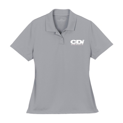 Grey Mesh Tech Polo - Business Gifts For Her